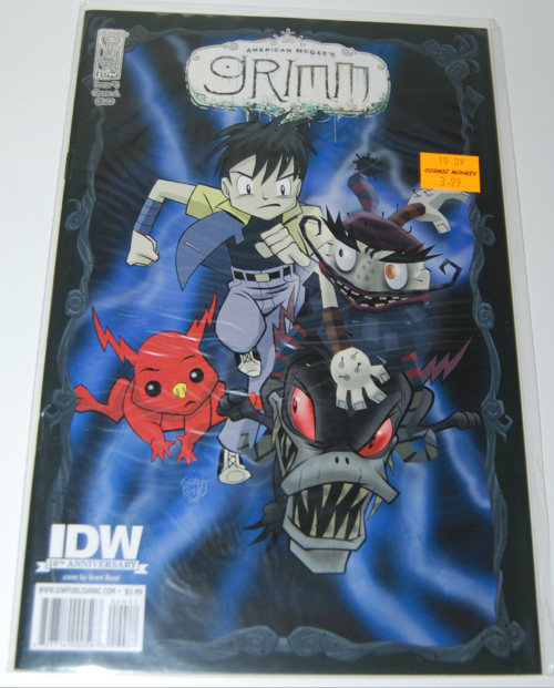 American mcgee grimm comic 4