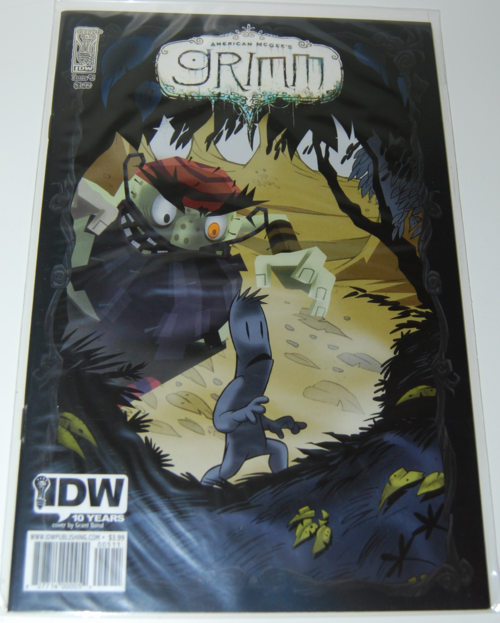 American mcgee grimm comic 5