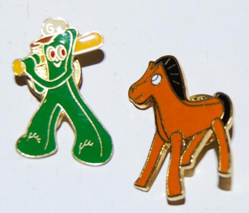 Gumby& pokey pins 1