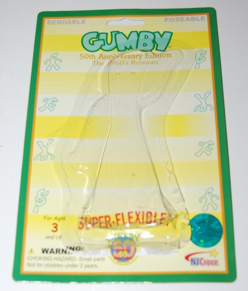 50 anniversary gumby x