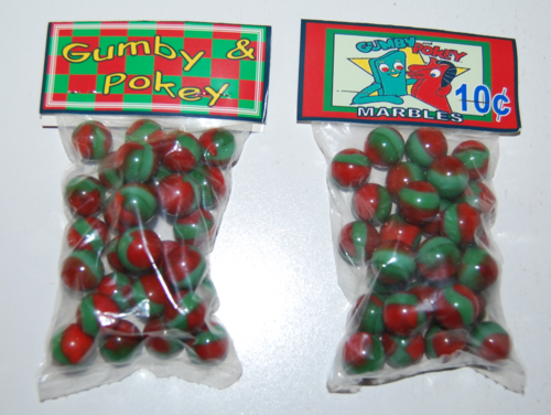 Gumby & pokey marbles