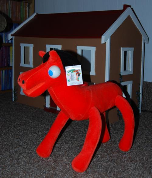 Giant pokey plush toy