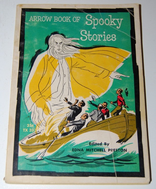 book month ~ arrow book of spooky stories