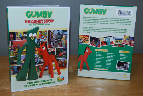 Gumby remastered dvds 3