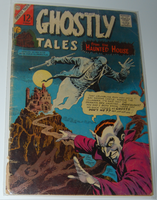 Ghostly tales comic