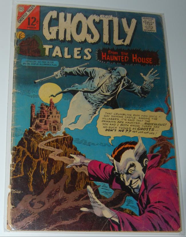 grim ghostly comics