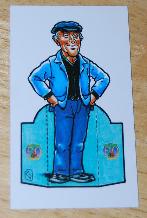 Comiccon card art clokey