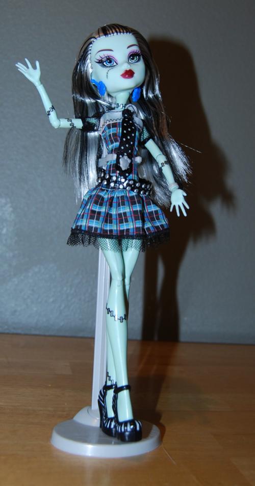 Monster high frankie stein doll 6
