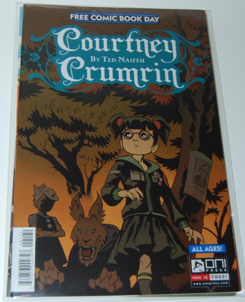 Courtney crumrin fcbd comic