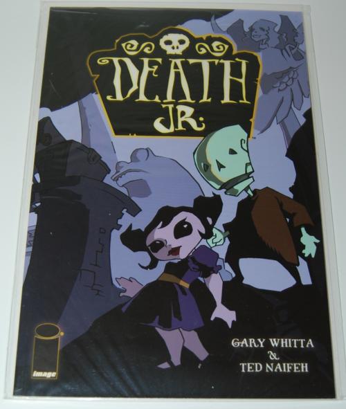 Death jr comic book