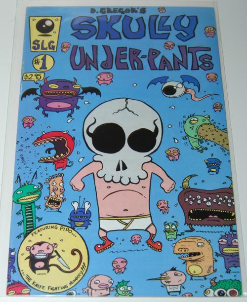 Skully underpants comic