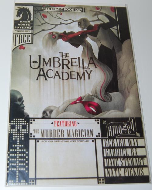 Umbrella academy fcbd comic
