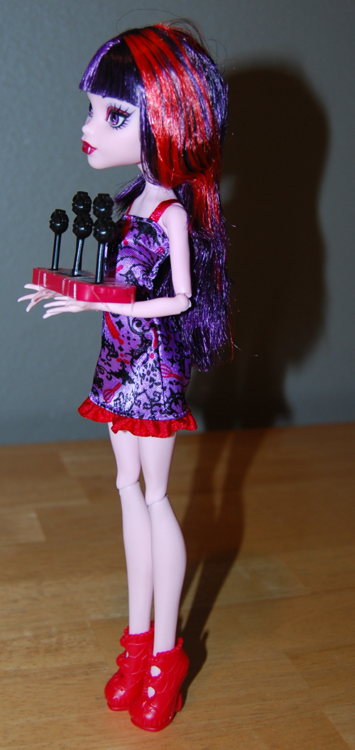 Monster high doll elissabat 5