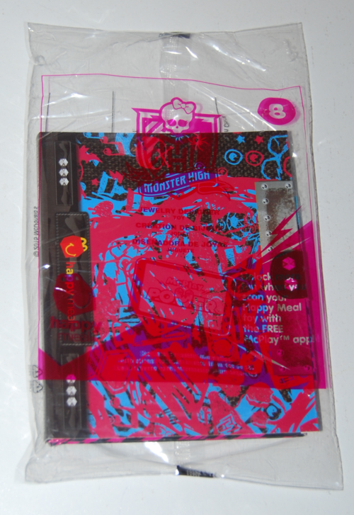 Monster high happy meal toys 2015 8
