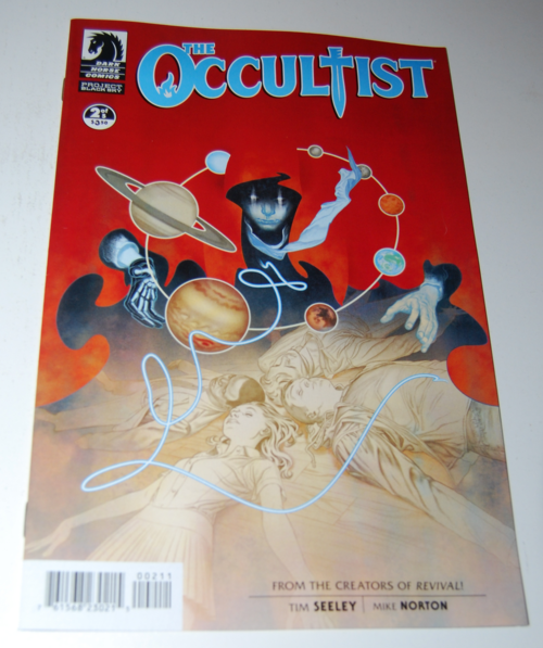 The occultist comic