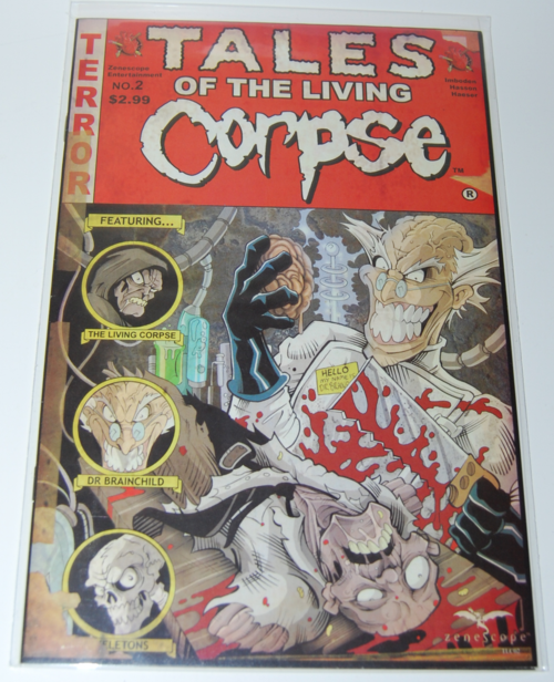 Tales of the living corpse comic