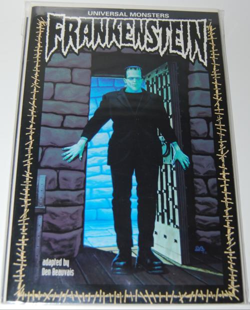 Frankenstein graphic novel