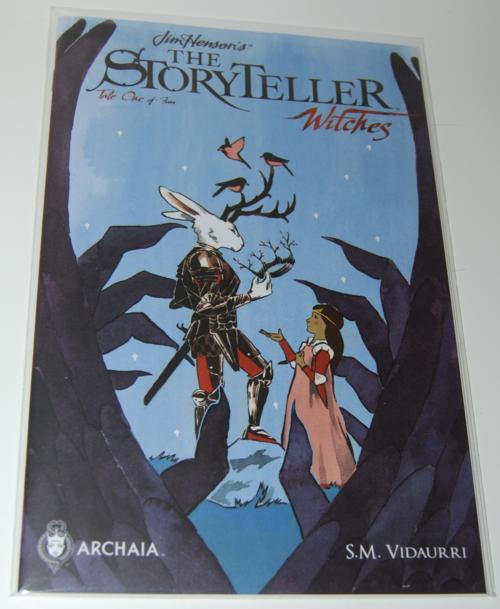 Jim henson storyteller comic