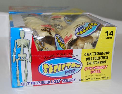 Skeleton pops