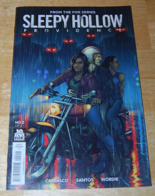 Sleepy hollow comics providence 2