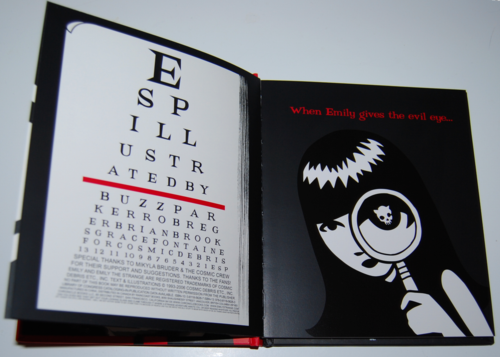 Emily the strange seeing is deceiving book 3