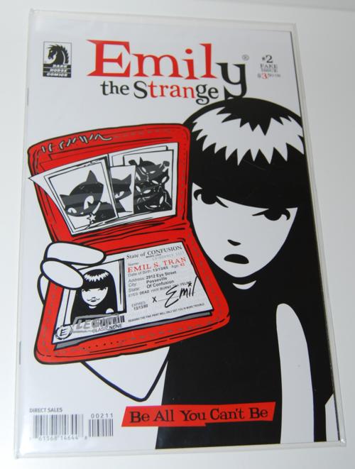 Emily strange comic books 2