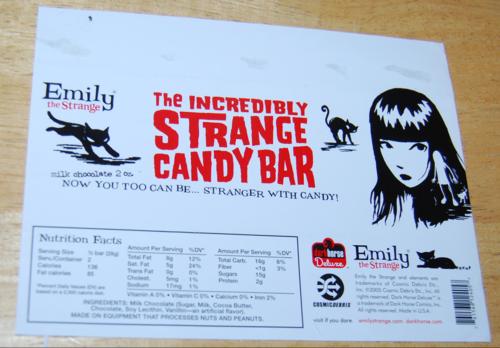 Emily the strange chocolate bar 2