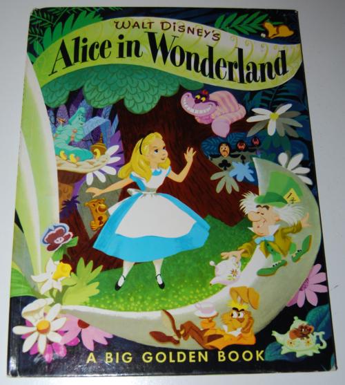 Alice in wonderland big golden book