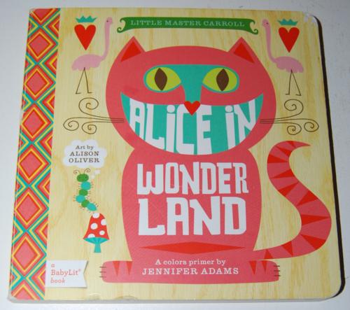 Alice in wonderland colors primer