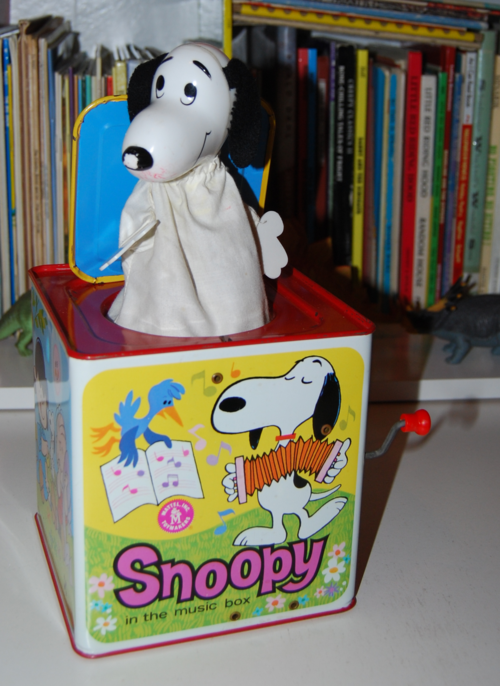 Snoopy in the music box 1966