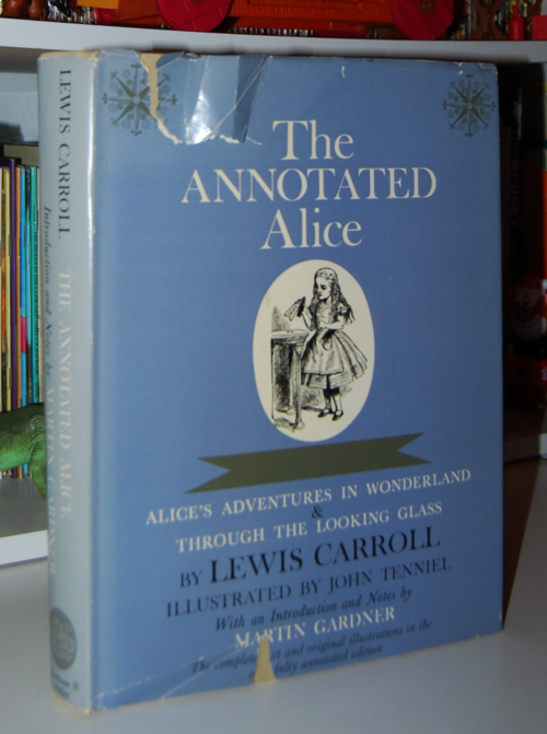 The annotated alice first edition