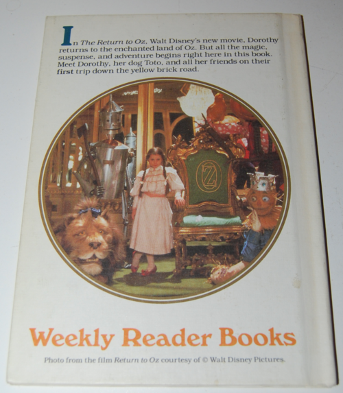 The wizard of oz weekly reader book 4