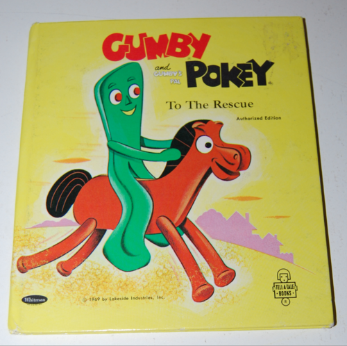 Gumby & pokey to the rescue whitman book