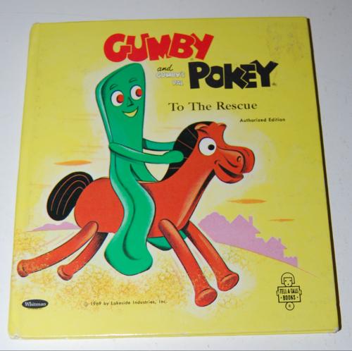 Gumby & pokey to the rescue whitman book