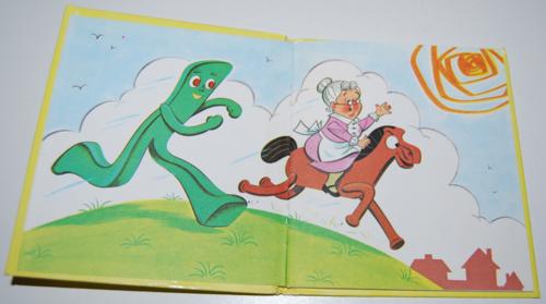 Gumby & pokey to the rescue whitman book 1