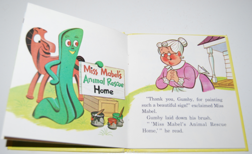 Gumby & pokey to the rescue whitman book 3