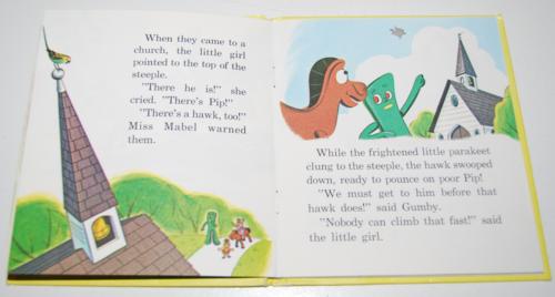 Gumby & pokey to the rescue whitman book 5