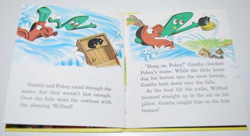 Gumby & pokey to the rescue whitman book 7