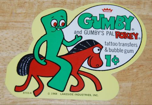 Fleer gumby ad