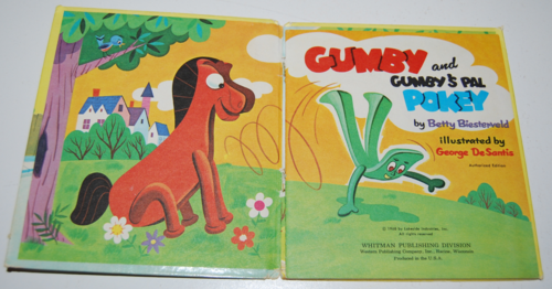 Gumby & pokey whitman book 1