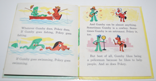 Gumby & pokey whitman book 3