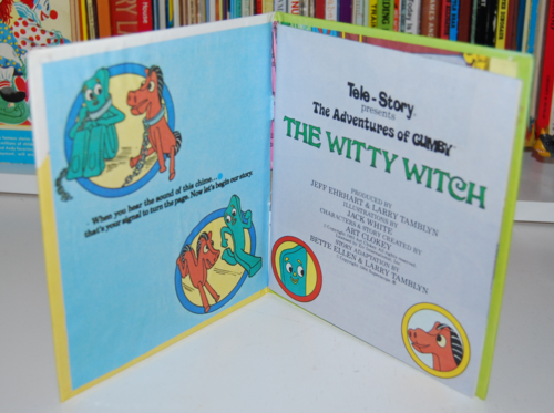 Gumby telestory book the witty witch 1