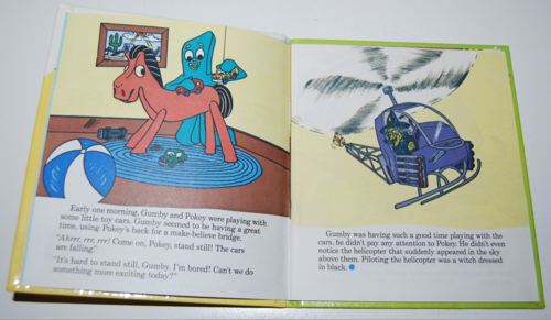 Gumby telestory book the witty witch 2