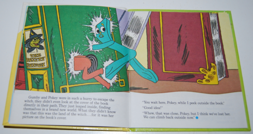 Gumby telestory book the witty witch 3