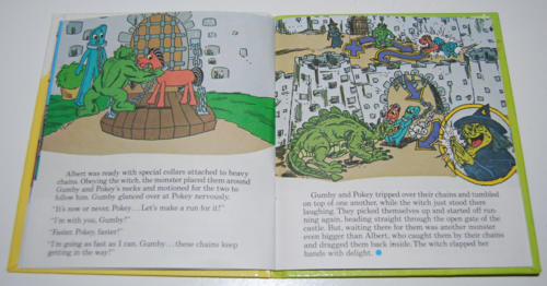 Gumby telestory book the witty witch 6
