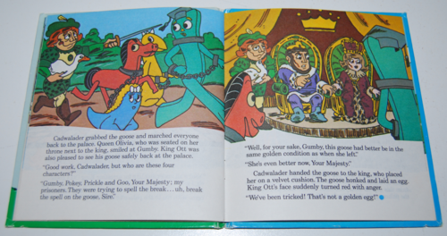Gumby telestory book the golden gosling 4