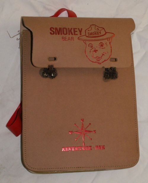 Smokey bear backpack