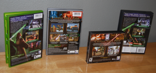 Star wars kotor games x