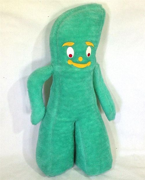 Funny looking gumby