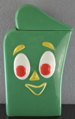 Gumby cookie jar